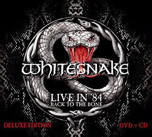 Whitesnake - Live In 84 Dvd+cd  - Billbox Records