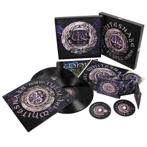 Whitesnake - Purple Album - Box Deluxe Edition c/ DVD, LP, 4PC  - Billbox Records