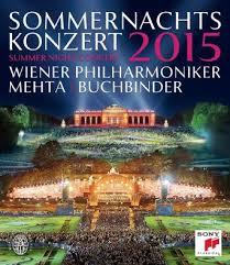 Wiener Philharmoniker - Sommernachtskonzert 2015- Summer Night Concert Blu Ray  - Billbox Records