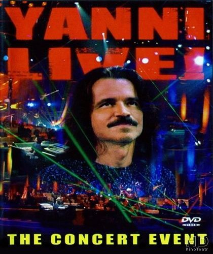 Yanni Live! The Concert Event - DVD Nacional  - Billbox Records