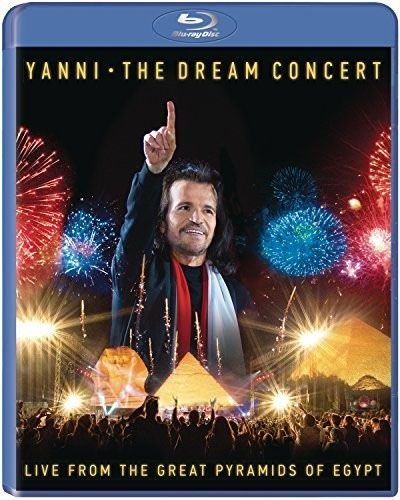 Yanni The Dream Concert: Live From The Great Pyramids Of Egypt  - Blu Ray Importado  - Billbox Records