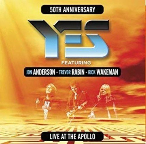 Yes Live At The Apollo -  3 Lps Importados - Billbox Records