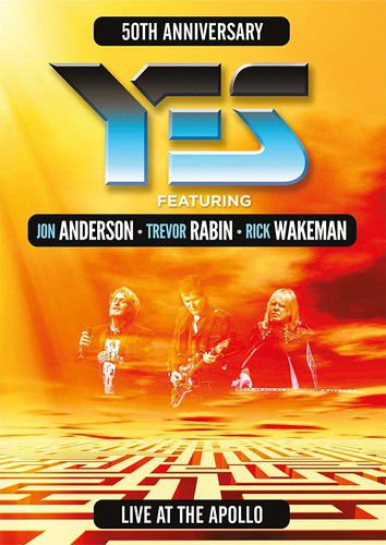 Yes - Live At The Appolo - Blu Ray Importado  - Billbox Records