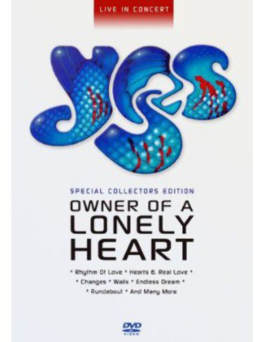 Yes - Owner Of A Lonely Heart - Dvd Importado  - Billbox Records