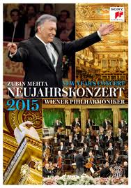 Zubin Mehta / Neujahrskonzert / New Years Concert 2015 - Dvd  - Billbox Records