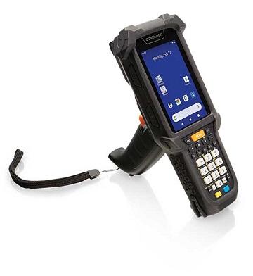 Coletor de Dados Datalogic Skorpio X5 2D - Touch 4.3 Polegadas, Alfanumérico, Wi-Fi, Bluetooth, Android 10 - Pistola Gun