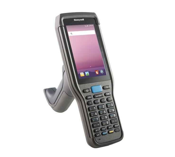 Coletor de Dados Honeywell  EDA60K 1D/2D - Tela Touch 4 Polegadas, Wi-Fi, Bluetooth, Android 7.1  - Haja Automação