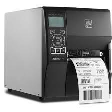 Impressora de Etiquetas Térmica ZT230 203 dpi USB/Serial/Paralela - Zebra  - Haja Automação