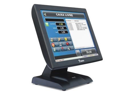 "PDV Touch Screen 15"" Tanca TPT 640  - Haja Automação"