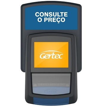 Terminal de Consulta Busca Preço G2 (Ethernet + Wi-Fi)   Gertec