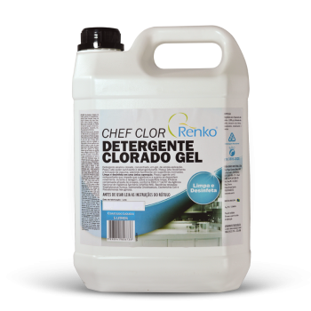 Chef Clor - Detergente Clorado  - Planet Limp