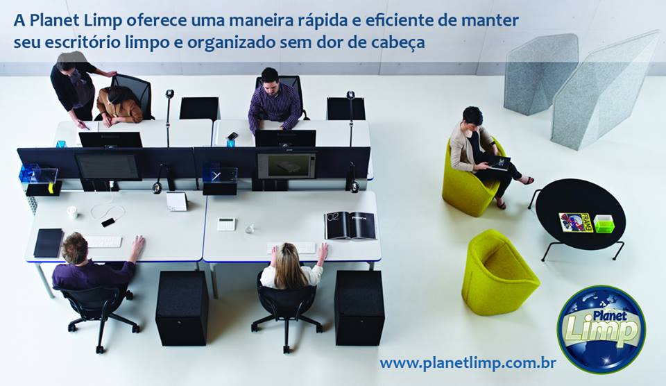 Limpeza Comercial  - Planet Limp