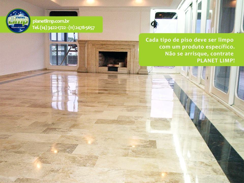 Tratamento de pisos  - Planet Limp