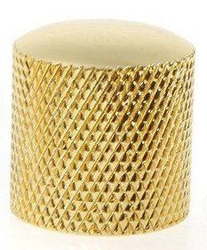 Knob Metal Dourado C/ Parafuso Allen  - Luthieria Brasil