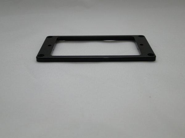 Moldura para captador humbucker em plástico preto (braço) - Spirit (MT30F)  - Luthieria Brasil