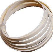 Binding (filete) cor marfim (160cm x 10mm x 1,5mm)