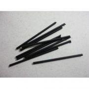 Marcação superior (Bastão) preto - 50mm (comprimento) x 2mm (diâmetro)