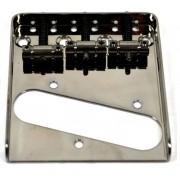 Ponte Cosmo Black estilo Telecaster Vintage (3 carrinhos) para Guitarra - Sung-il (BT005)