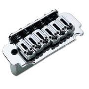 Ponte Cromada Tremolo 2 pivôs para Guitarra (Bloco 36mm) - Sung-il (BS108)