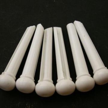 Pino branco para cavalete de violão (aço) (Kit com 6 unidades)  - Luthieria Brasil