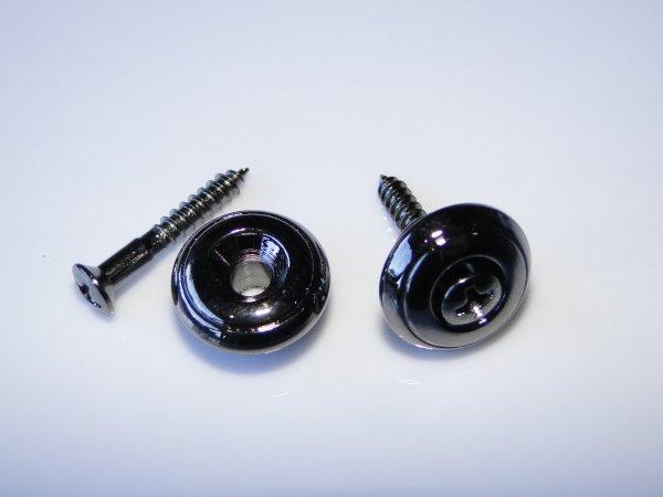 Roldana grande cosmo black para correia - Kit com 2 unidades  - Luthieria Brasil