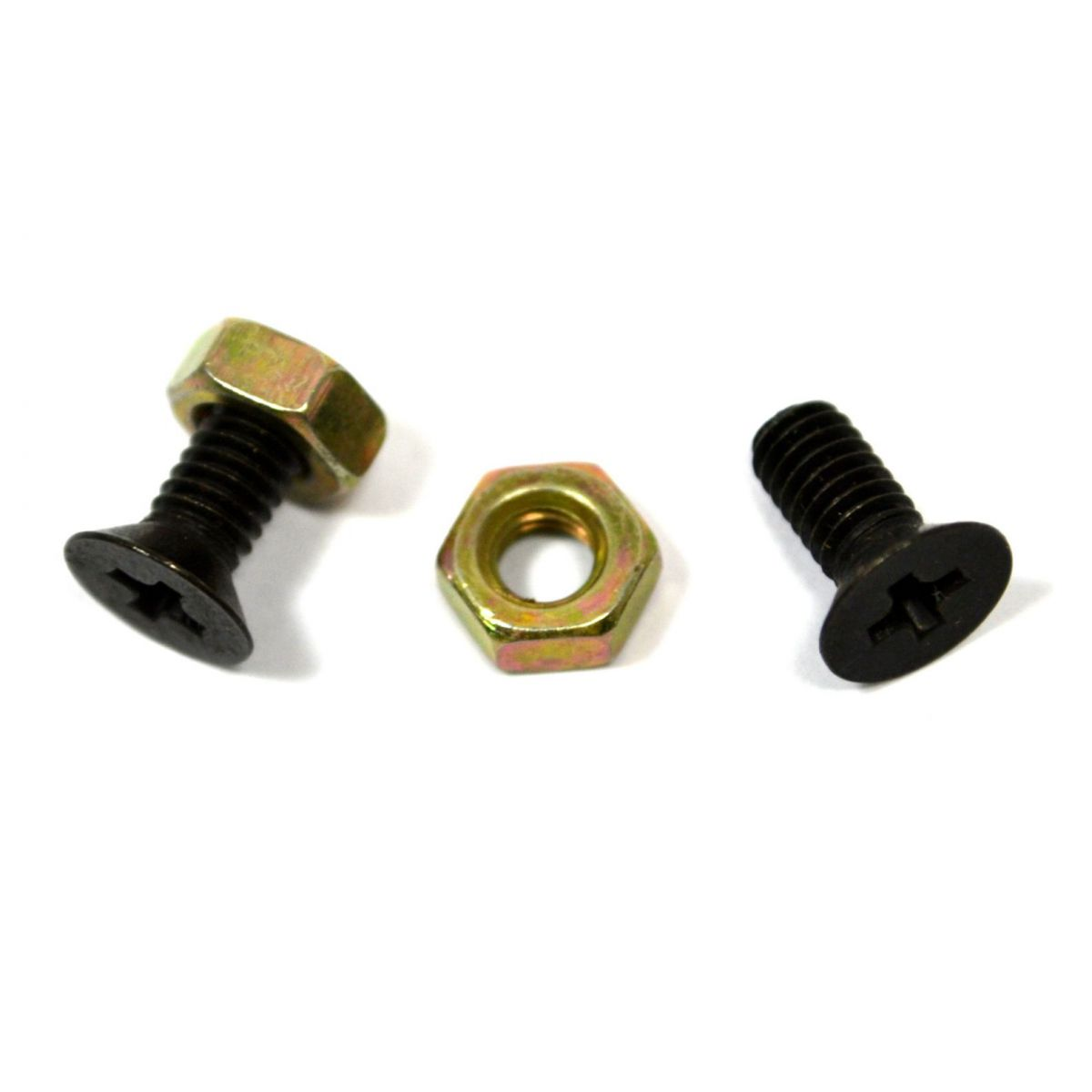 Parafuso preto para nut (9mm x 4mm) - Kit c/ 2 peças  - Luthieria Brasil