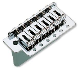 Ponte Cromada estilo Stratocaster para guitarra (Bloco 36mm) - Sung-il (BS006)  - Luthieria Brasil