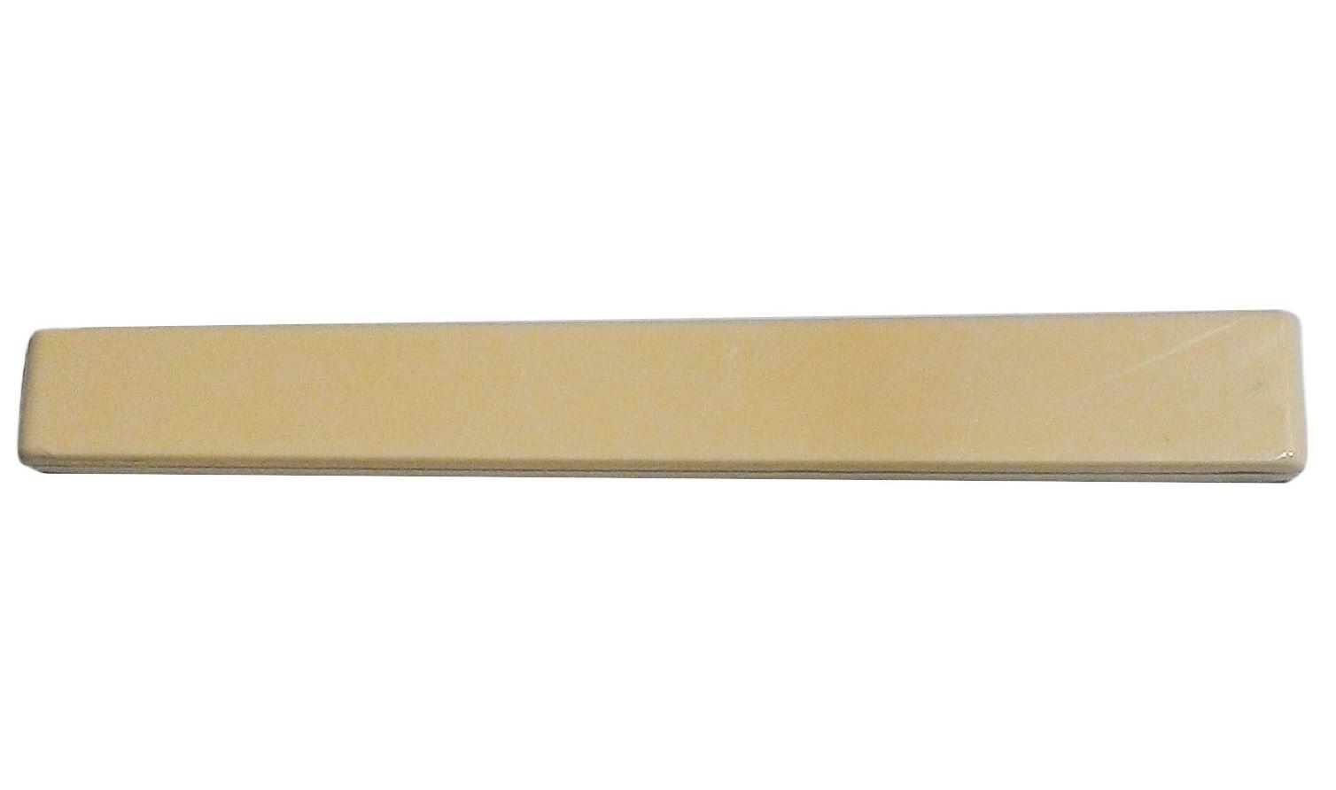 Rastilho de plástico cor marfim para violão clássico (3mm x 11.3/9.3mm x 80mm) - Alice (A027FH)  - Luthieria Brasil