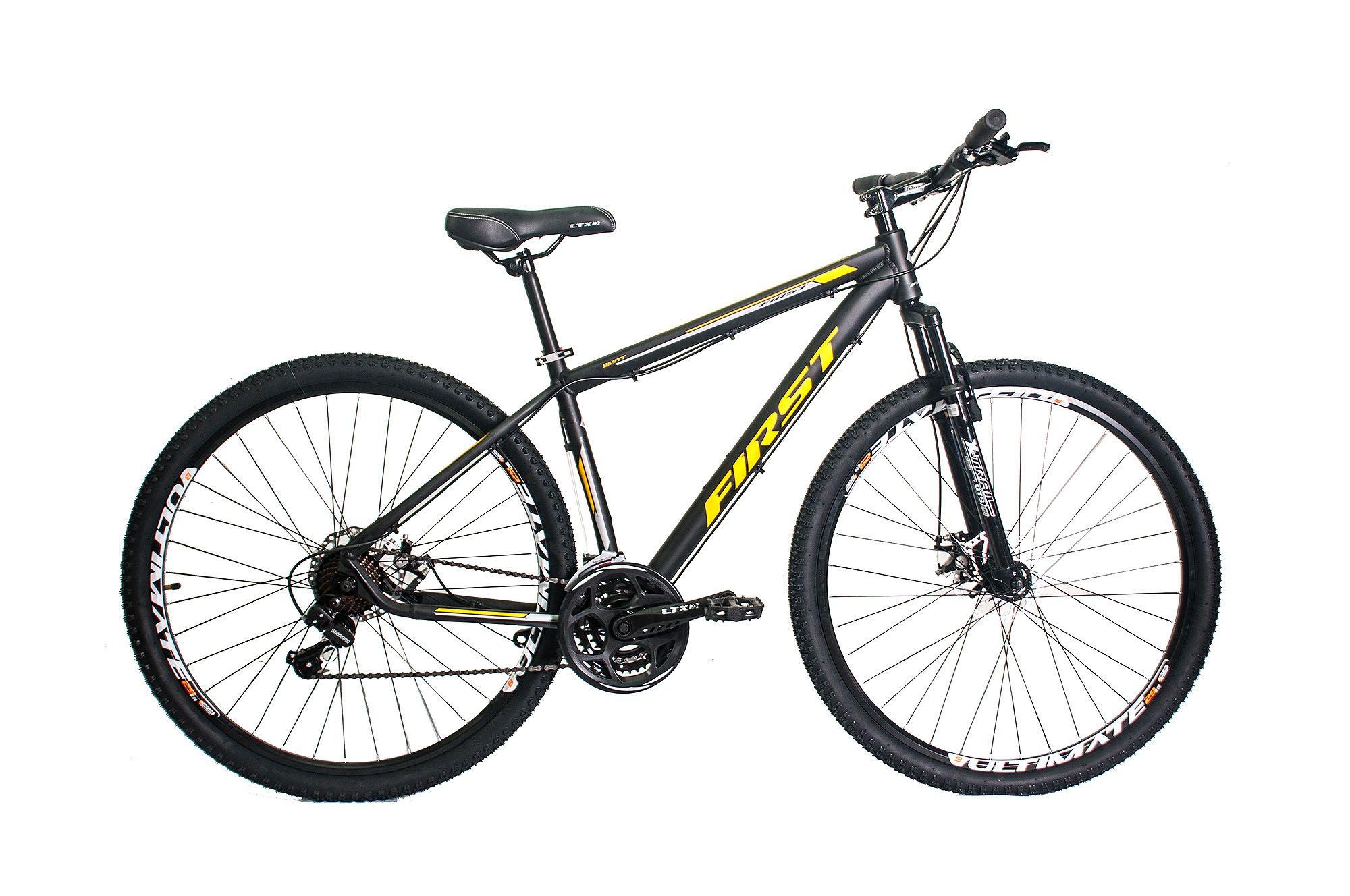 c5637832d Bicicleta 29 FIRST SMITT - câmbios Shimano - freio a disco 24 Marchas -  Extremebike ...