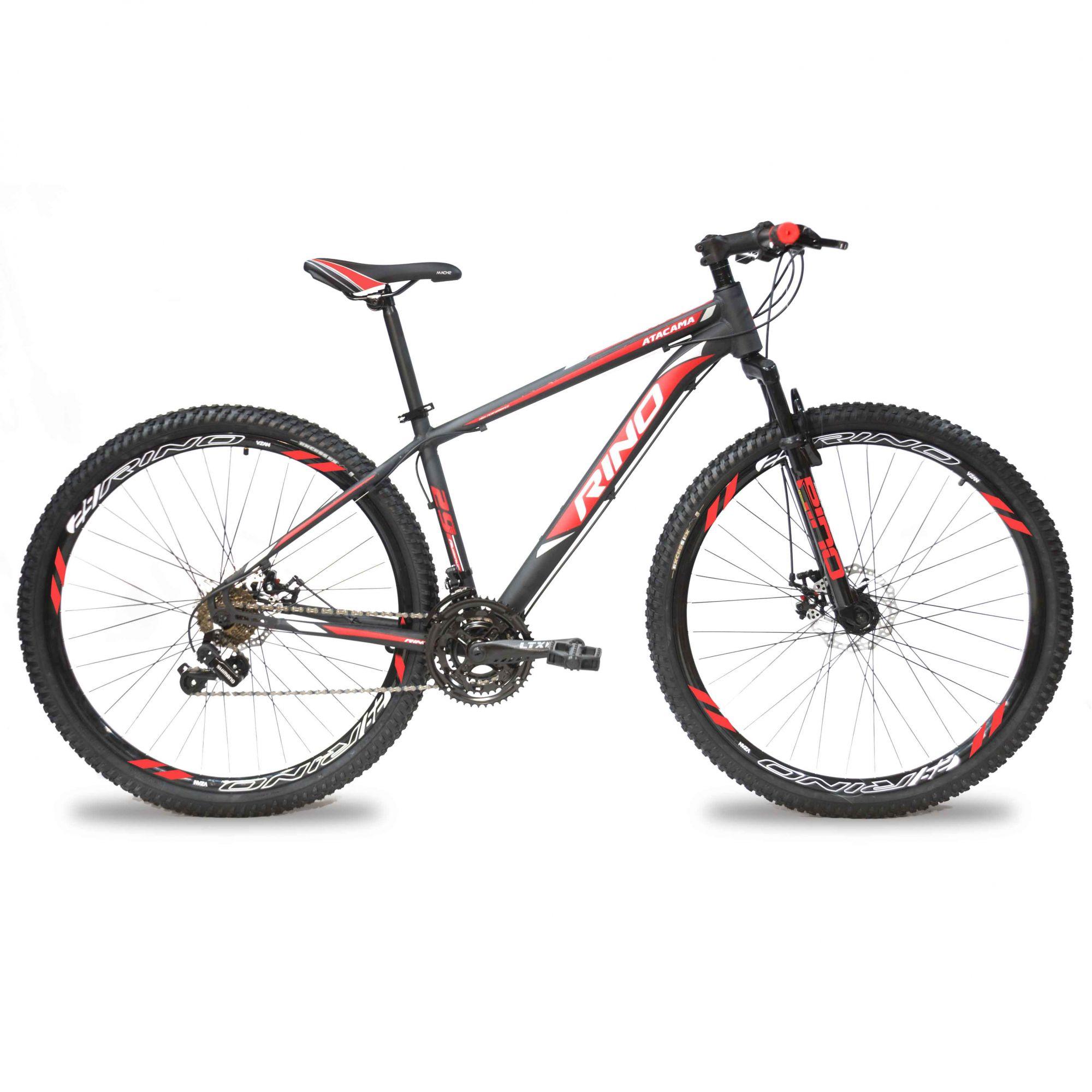 Bicicleta RINO Atacama câmbios Shimano aro 29 freio a disco 24v -  Extremebike ... 492550289a2
