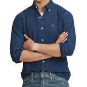 Camisa Jeans Escuro ABR