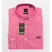 Camisa Social HB Rosa