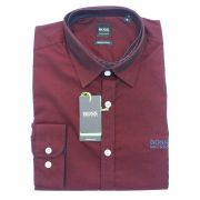 Camisa Social HB Vinho