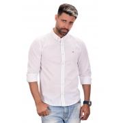 Camisa Social Hollister linho Branca