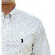 Camisa Social RL POÁ Branco - Custom Fit