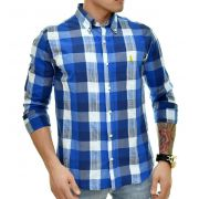 Camisa Social RL Xadrez Royal - Custom Fit