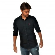 Camisa Social SK Preta
