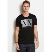 Camiseta AX Preta Blocks