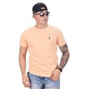 Camiseta Basic Ralph Lauren Melão