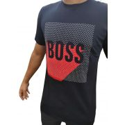 Camiseta HB Marinho - 02 Slim Fit