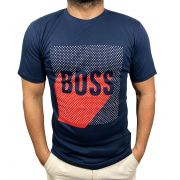 Camiseta HB Marinho - 02 Slim Fit