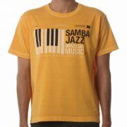 Camiseta Osklen Samba Mostarda
