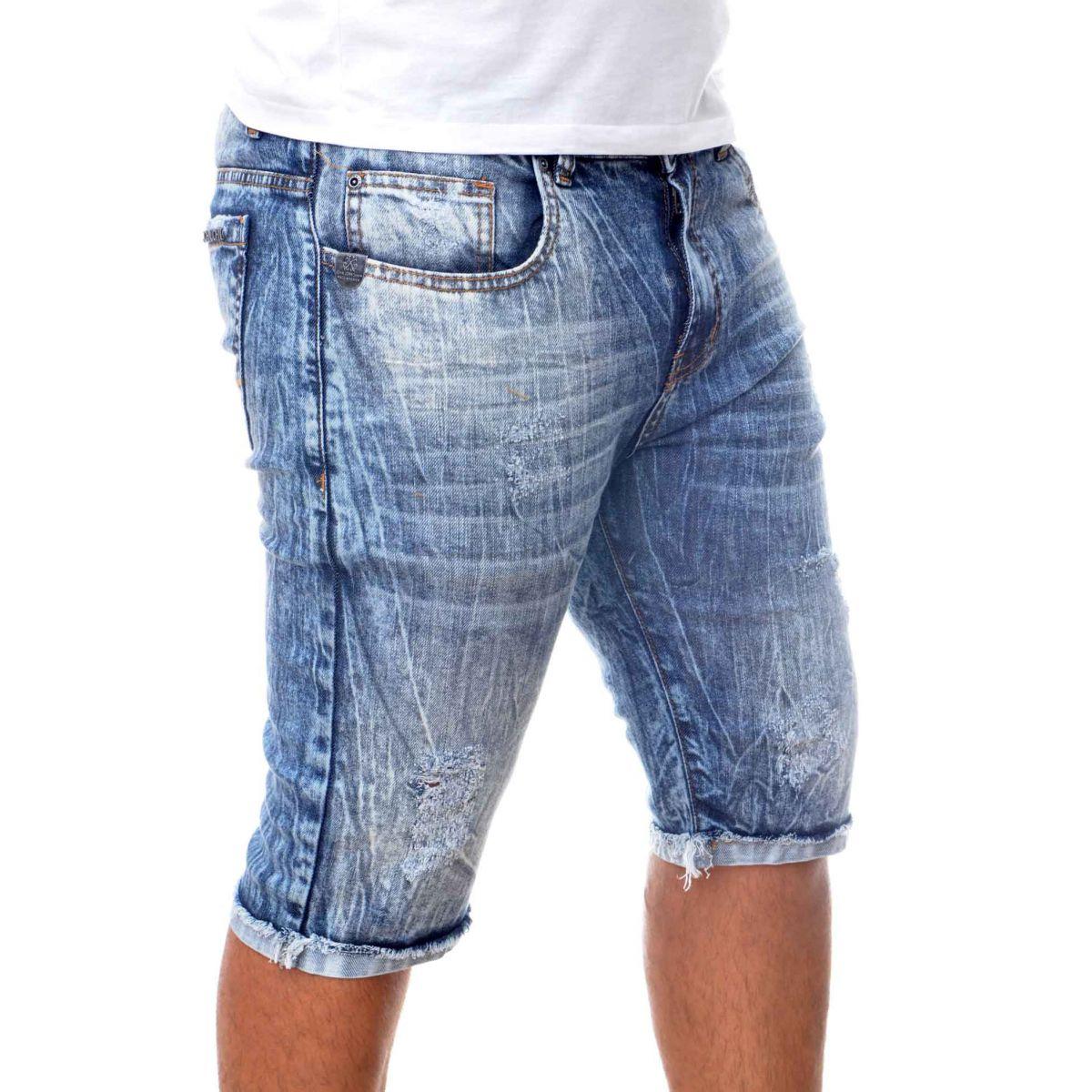 Bermuda Jeans John John Marmorizada