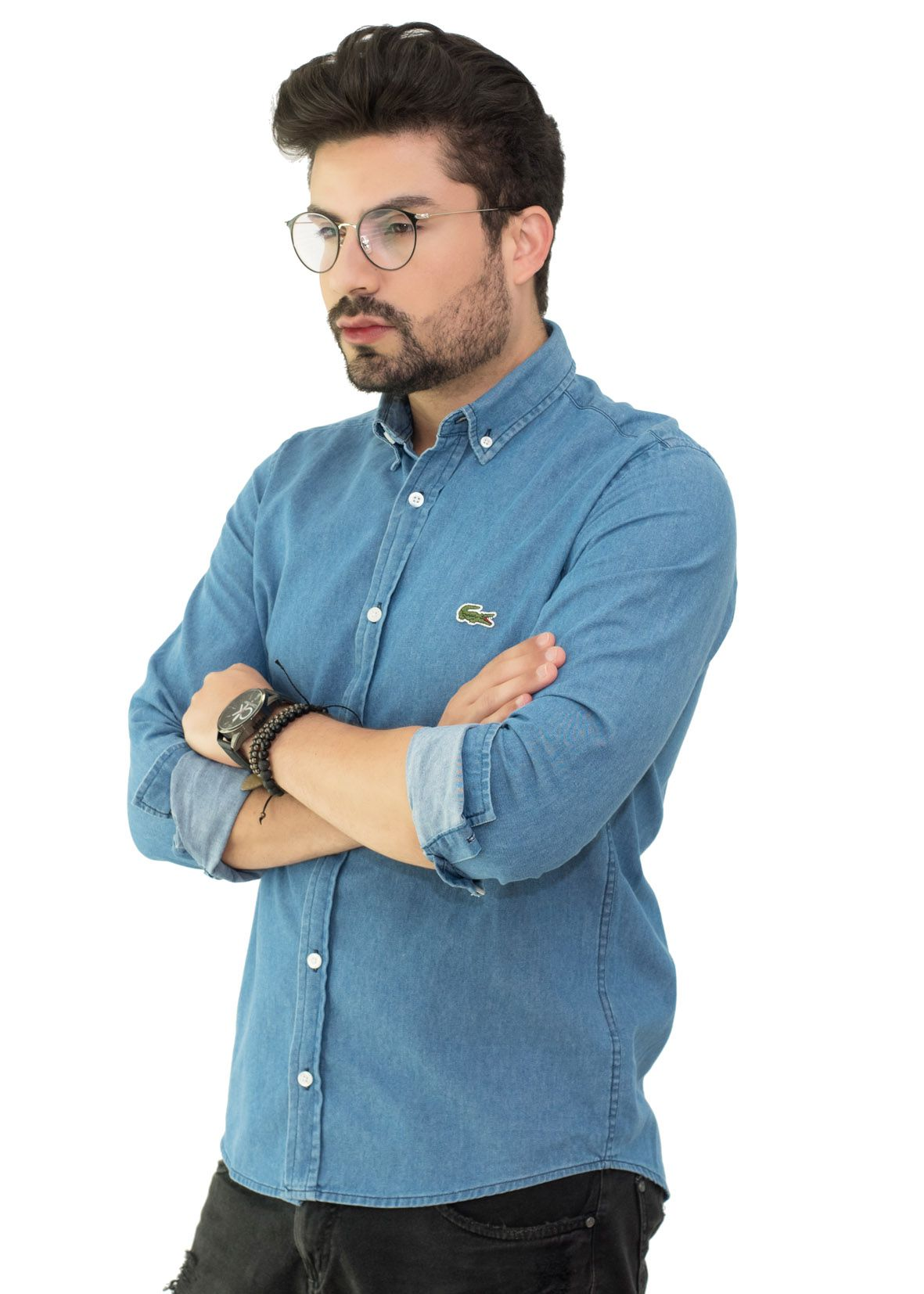 Camisa Jeans Delave LCT