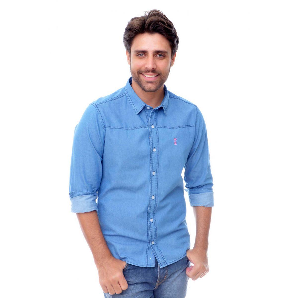 Camisa Jeans Delave - Slim Fit