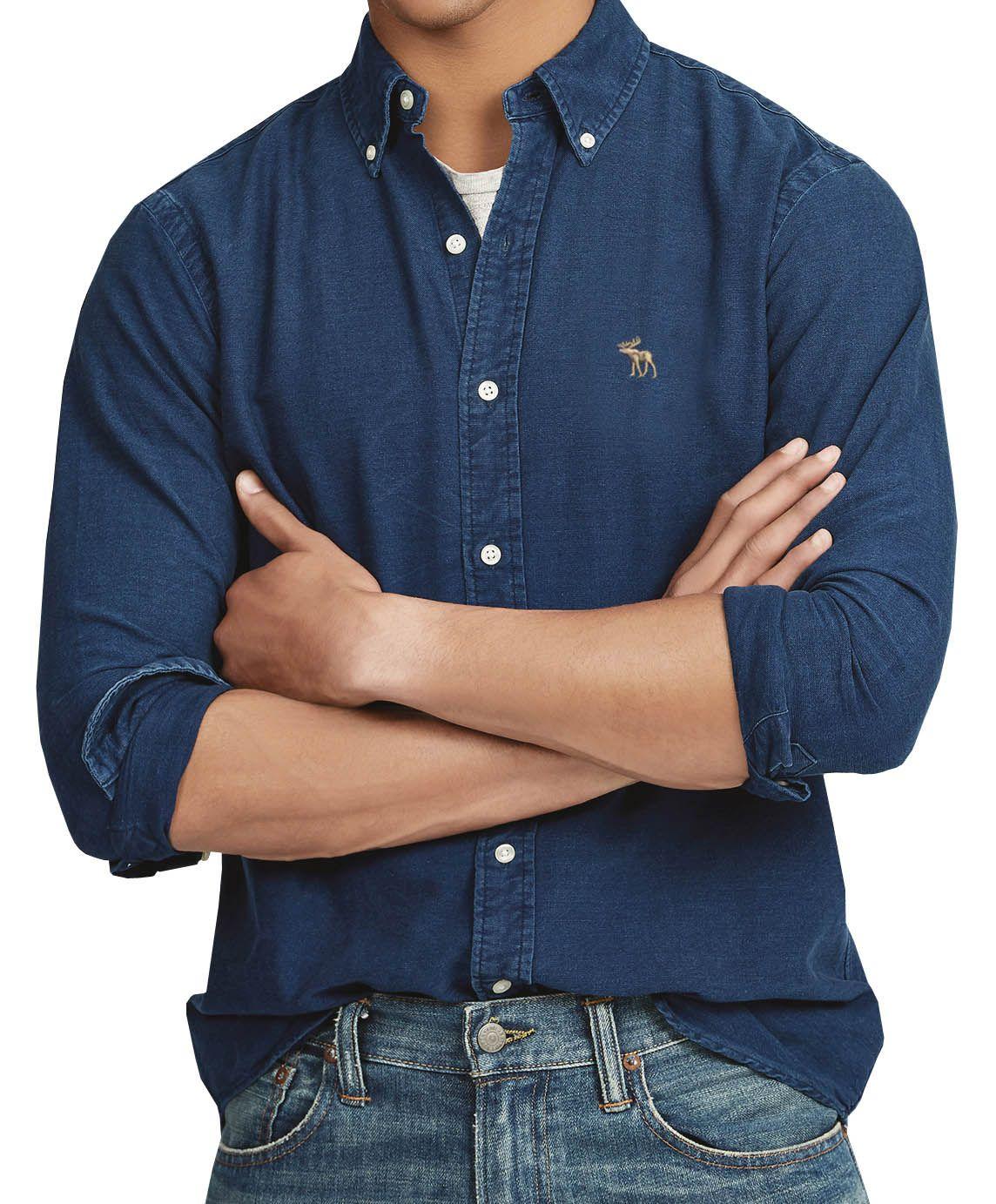 Camisa Jeans Escuro ABR   - Ca Brasileira