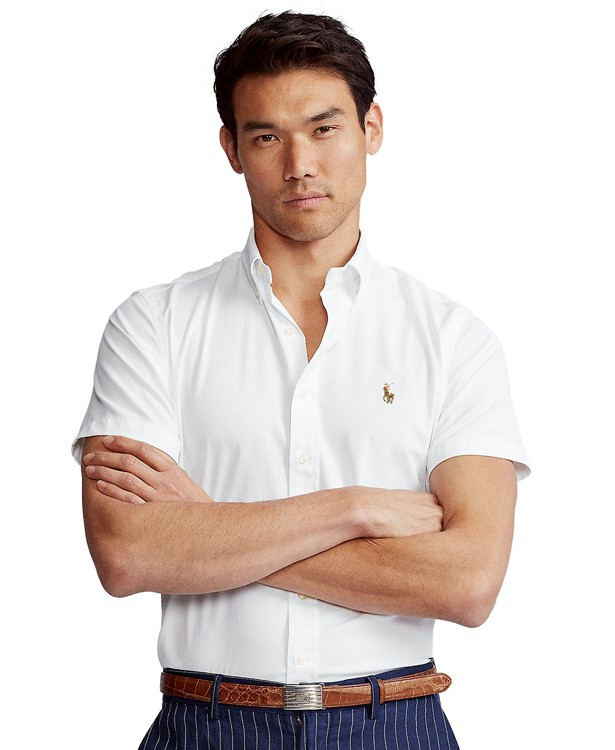 Camisa RL Manga Curta Branca Logo Colorido  - Ca Brasileira