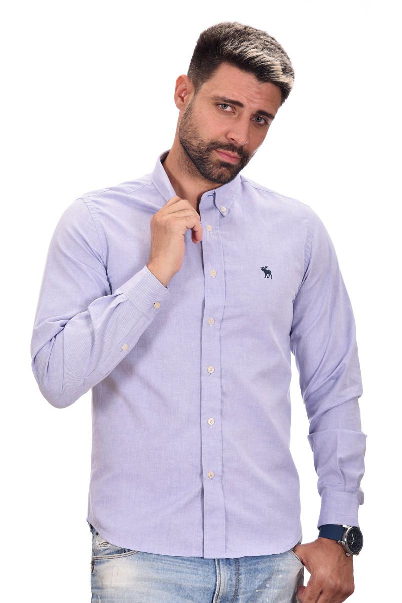 Camisa Social ABR Oxford Azul  - Ca Brasileira