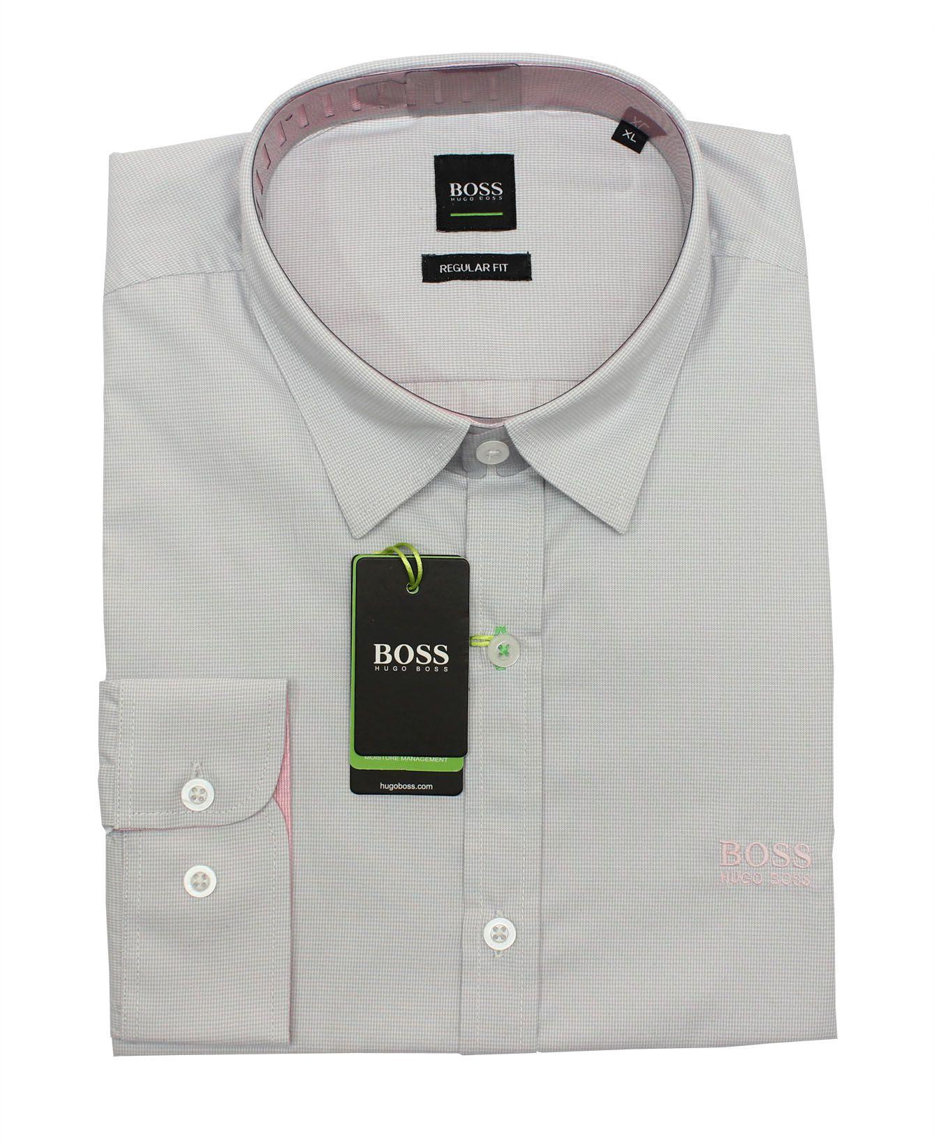 Camisa Social HB Mini Xadrez Cinza Claro  - Ca Brasileira