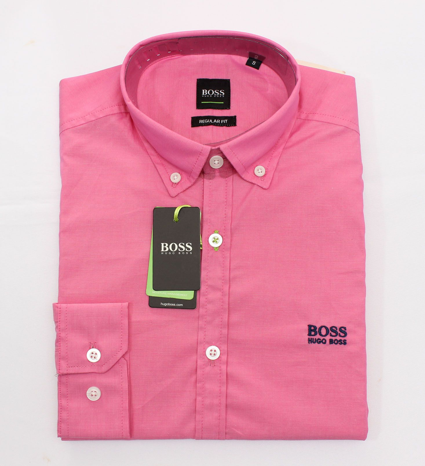 Camisa Social HB Rosa  - Ca Brasileira